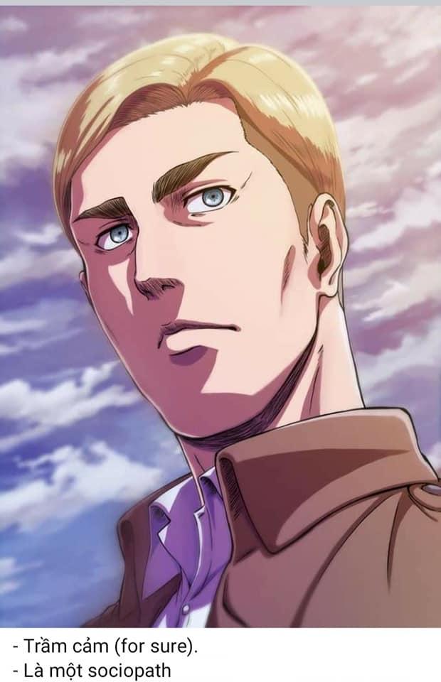 Attack on Titan: Điểm qua loạt nhân vật mắc bệnh tâm lý nặng, Mikasa là kiểu rối loạn nhân cách phụ thuộc - Ảnh 7.