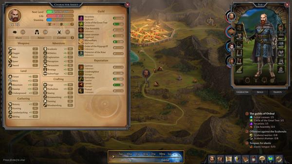Mist Legacy, game nhập vai theo lượt độc đáo mới ra mắt trên Steam, miễn phí 100% - Ảnh 2.