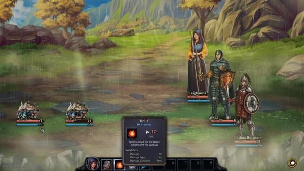 Mist Legacy, game nhập vai theo lượt độc đáo mới ra mắt trên Steam, miễn phí 100% - Ảnh 7.