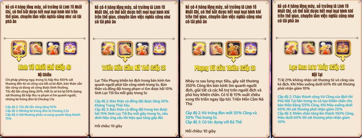 Sở Lưu Hương - Lục Tiểu Phụng sẽ là tướng mới, Tân Minh Chủ trở thành game đa vũ trụ kiếm hiệp đầu tiên tại Việt Nam, Kim - Cổ giao duyên - Ảnh 10.