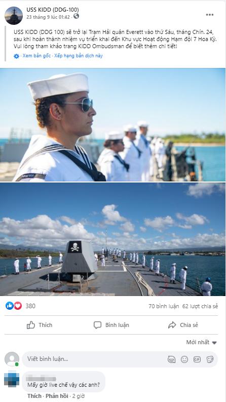 Fanpage của Hải quân Mỹ bị hack để livestream Đế Chế Tau-chien-my-bi-hack-6-1633774668643210555024