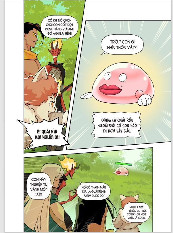 """Siêu phẩm đón tết: Webtoon """"Kế hoạch sống còn của Team Thầy Ba"""" ra mắt 3 chương đầu đầy mặn mòi - Ảnh 5."""