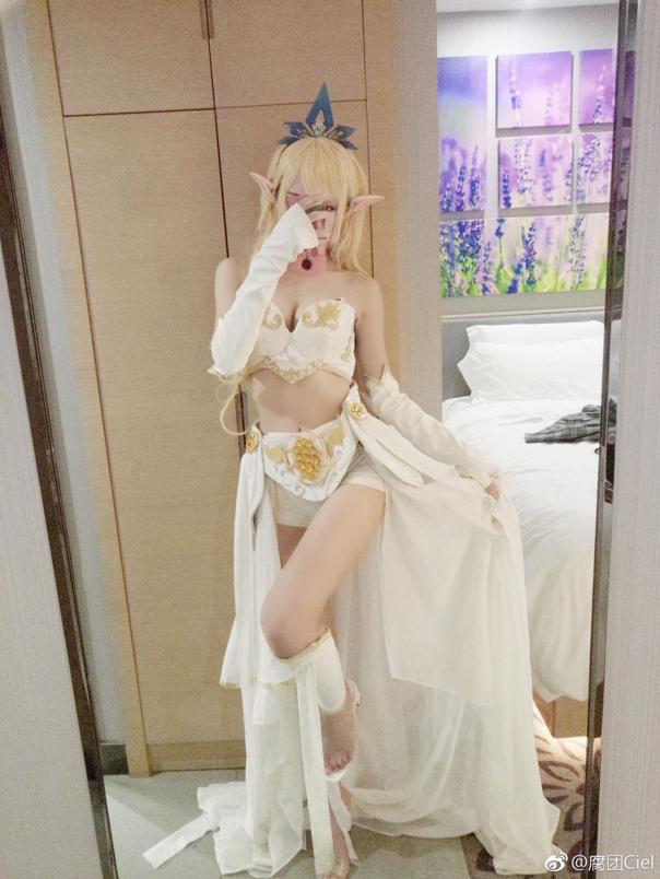 Thở dốc với màn cosplay Janna đẹp lung linh của mỹ nhân xứ Trung, không cần tạo lốc cũng thổi bay mọi trái tim game thủ - Ảnh 2.