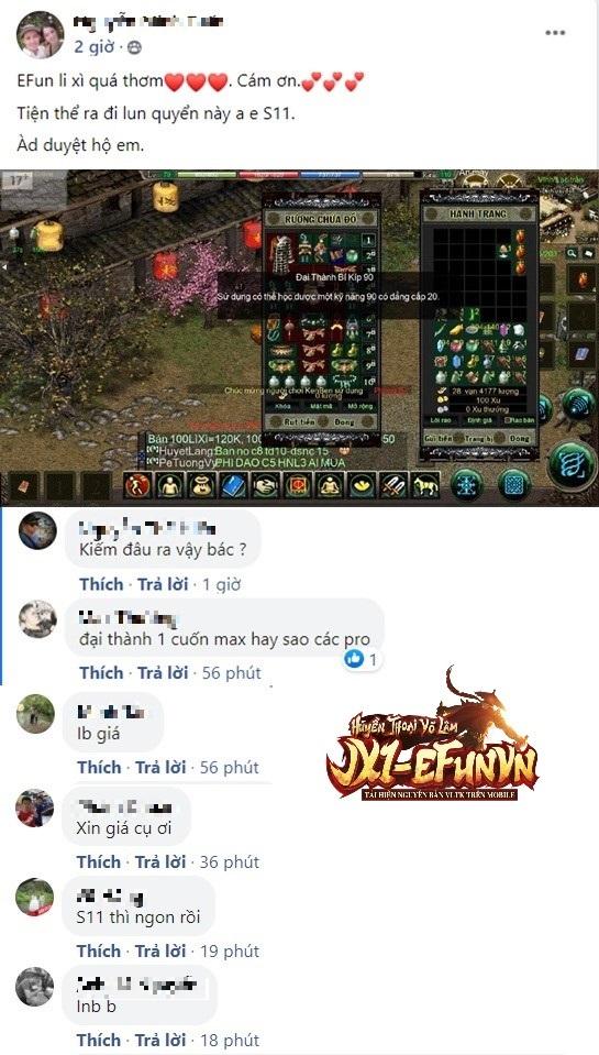 Game thủ Jx1 EfunVN Huyền Thoại Võ Lâm hào hứng ăn Tết truyền thống với loạt sự kiện luộc Bánh Chưng, treo câu Liễn và bày mâm ngũ quả - Ảnh 9.