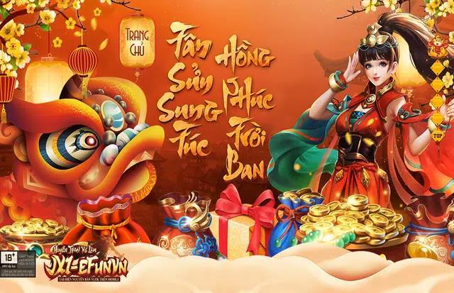 Game thủ Jx1 EfunVN Huyền Thoại Võ Lâm hào hứng ăn Tết truyền thống với loạt sự kiện luộc Bánh Chưng, treo câu Liễn và bày mâm ngũ quả - Ảnh 1.