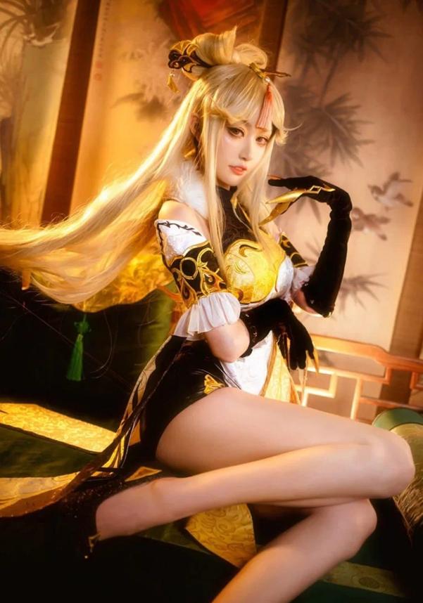 Ngây ngất với bộ cosplay nàng Ningguang trong vũ trụ Genshin Impact - Ảnh 6.