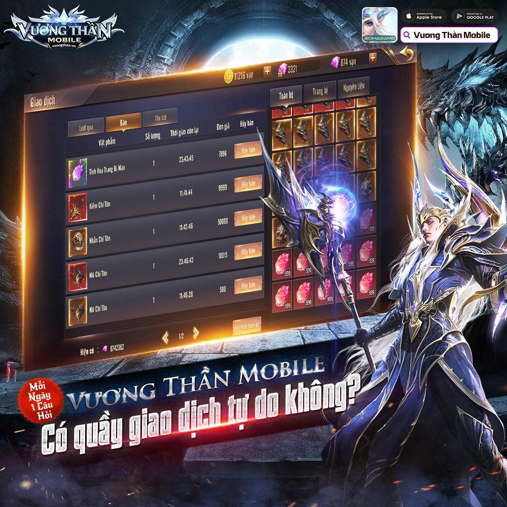 [Góc sốc văn hóa] Vương Thần Mobile server Đài full VIP 16, nói không với cày chay: Dân nước này quá giàu hay do game này quá khủng? - Ảnh 8.
