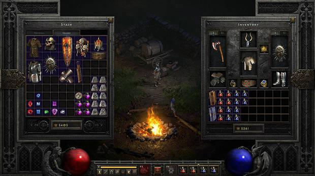5 minutes of full gameplay of Diablo II: Resurrected, memories of 20 years ago suddenly flooded - Photo 2.