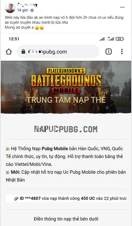 """Đầu xuân năm mới, nhiều game thủ Việt bị lừa theo kịch bản """"xưa như diễm"""", tiền mất tật mang còn bị CĐM mắng mỏ - Ảnh 2."""