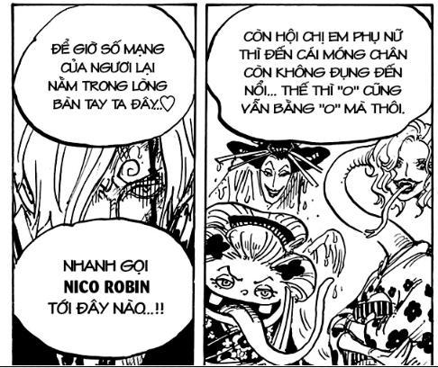 Soi những chi tiết thú vị trong chap 1004 One Piece: Hiyori xuất hiện trên Đảo Quỷ? - Ảnh 9.