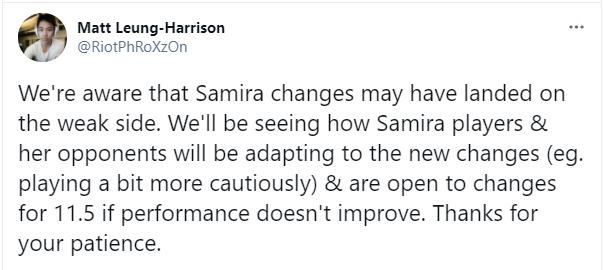 LMHT: Lo ngại Samira trở nên quá phế, Riot lên kế hoạch buff cho vị tướng này ở ngay bản sau - Ảnh 4.