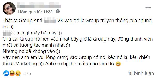 CĐM bất ngờ rộ tin ViruSs tự mua lại group anti chính mình, phục vụ mục đích truyền thông - Ảnh 4.