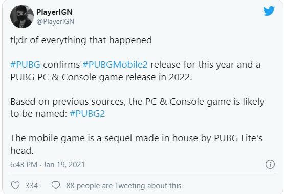 PUBG Mobile 2 có thể ra mắt ngay tuần sau với rất nhiều thay đổi cả về đồ họa lẫn bối cảnh -1614160591222159046512