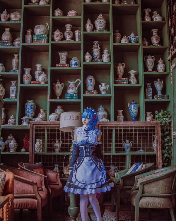 Đắm mình trước bộ cosplay cô nàng Rem trong Re:Zero, có cô hầu gái như này thì ở nhà cũng mãn nguyện - Ảnh 6.