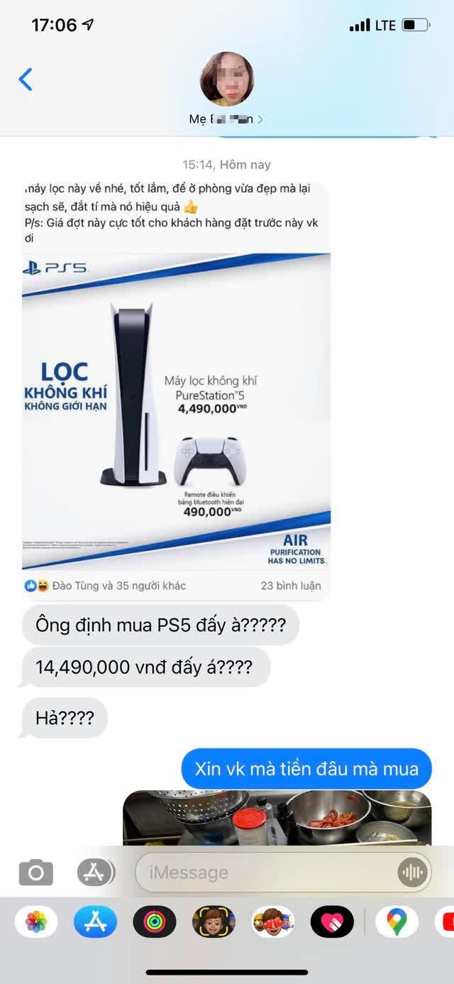 """1001 ý tưởng bá đạo được game thủ Việt nghĩ ra để xin vợ mua """"máy lọc không khí"""" thế hệ 5 - Ảnh 4."""