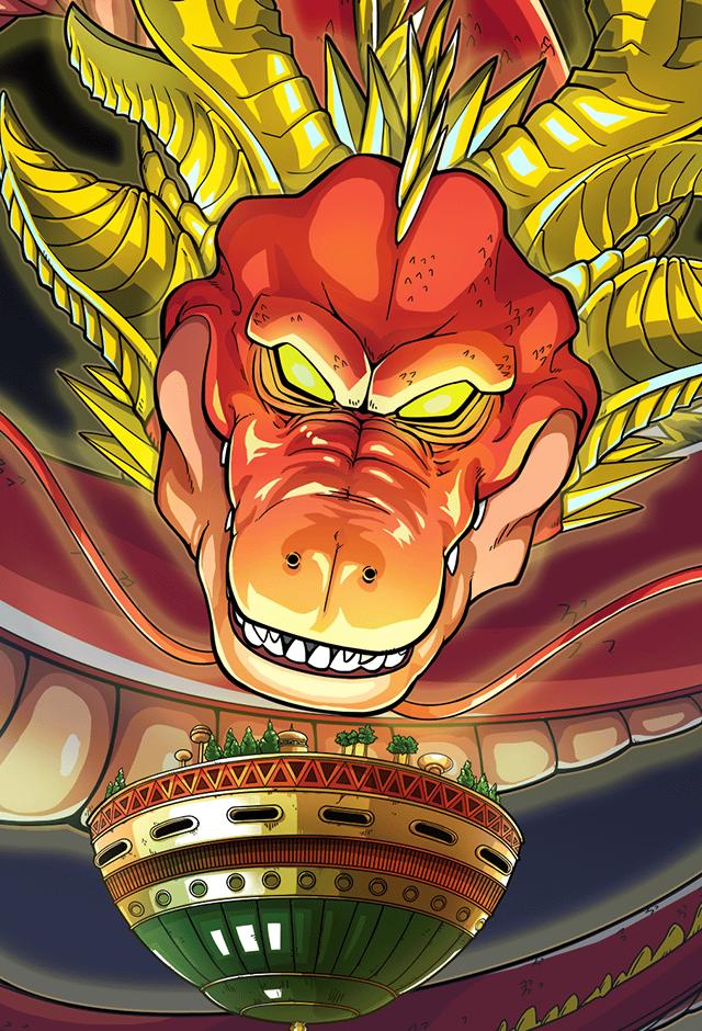 Dragon Ball Super: Ultimate Shenron mà Granola triệu hồi là rồng thần đã xuất hiện trong phần GT và bị fan ví giống con lươn - Ảnh 7.