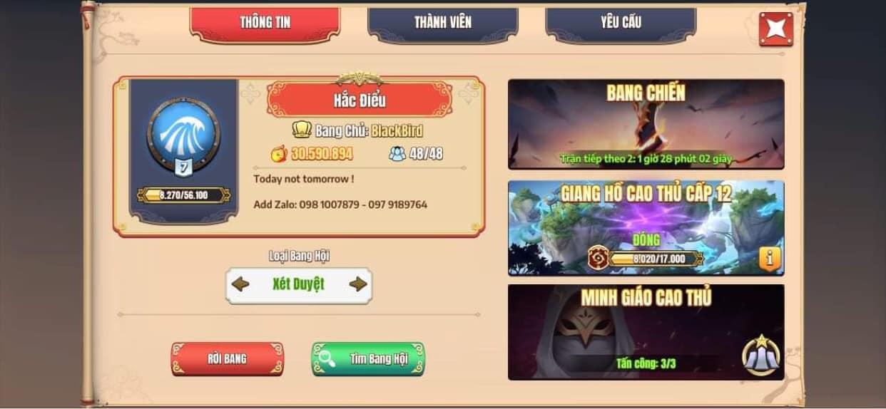 Vượt trội hoàn toàn, tính năng Bang Hội trong Tân Minh Chủ có thể sánh ngang với các game MMORPG - Ảnh 4.