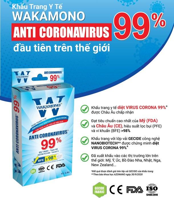 Khẩu trang y tế do người Việt phát minh có khả năng tiêu diệt virus corona đến 99% - Ảnh 4.