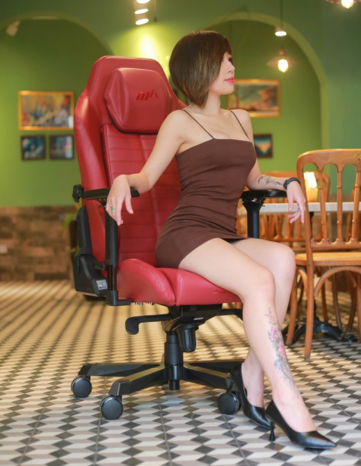 Gaming chair level DXRacer Master Series: The feeling of a tycoon!  - Photo 10.