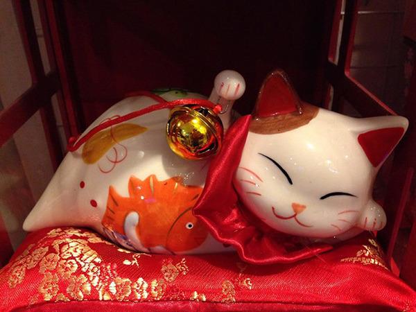Nguồn gốc của mèo may mắn Maneki Neko - Ảnh 5.