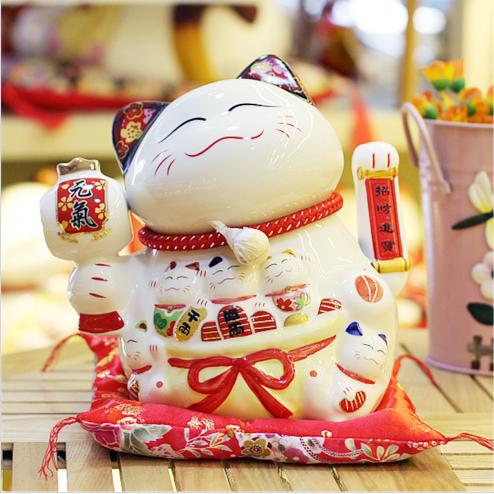 Nguồn gốc của mèo may mắn Maneki Neko - Ảnh 1.