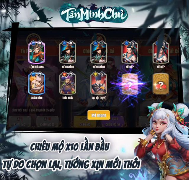 Cắt bỏ những tính năng vòi tiền, Tân Minh Chủ hỗ trợ tận răng cho cả gamer bận rộn lẫn rảnh rỗi, afk cũng nhận quà - Ảnh 7.