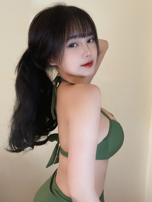 Sở hữu vòng một siêu đẹp, hot girl Việt 2k2 khiến dân tình xôn xao, đổ xô đi tìm info - Ảnh 1.