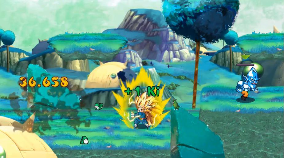 Tựa game khiến fan Sôn Gô Ku dậy sóng khi hô biến quả cầu Kinh Khi thành màu... vàng, pha xử lý sau đó của BQT mới sốc - Ảnh 11.