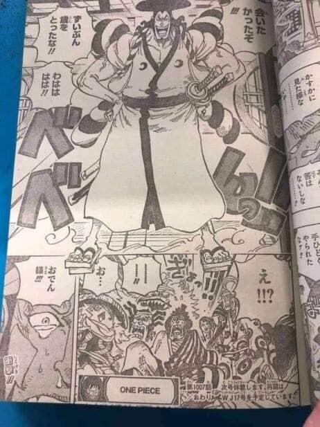 Tin sốc One Piece: Oda lại bẻ cua cực gắt, liệu Oden xuất hiện trong chap 1007 mới là thật hay giả? - Ảnh 1.