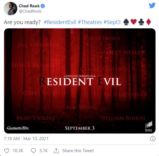 Game huyền thoại Resident Evil lại rục rịch lên phim, game thủ vui mừng nhưng thấy lành lạnh sau gáy - Ảnh 1.