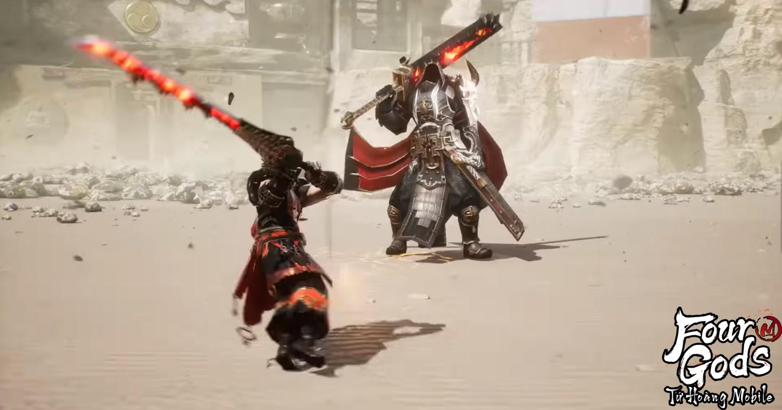Cận cảnh class Thanh Long và Huyền Vũ trong Tứ Hoàng Mobile: Đẳng cấp nhân vật khác biệt từ đồ họa bom tấn hàng đầu - Ảnh 10.
