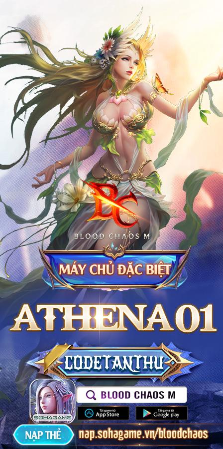 Blood Chaos M khai mở máy chủ đặc biệt Athena01, tặng rổ quà cùng 2000 Giftcode để game thủ giải trí cuối tuần - Ảnh 1.