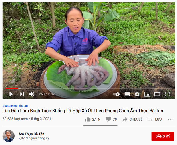 Tụt view trầm trọng, bà Tân Vlog lập kênh YouTube mới, tiếp tục bị chỉ trích vì nghi vấn sao chép Ẩm Thực Mẹ Làm - Ảnh 4.