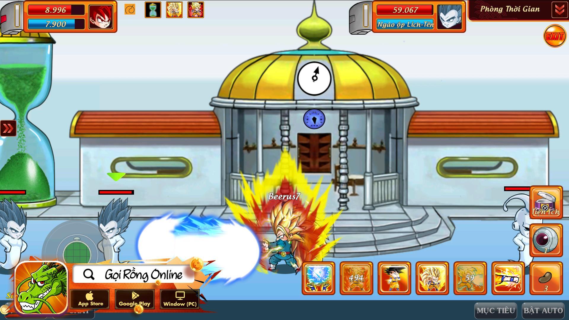 Phòng Thời Gian, Giải Đấu Sức Mạnh, Hành Tinh Ngục Tù: Gọi Rồng Online chính là game chuẩn đúng chất dành cho fan Bi Rồng - Ảnh 1.