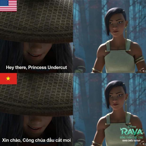 Phim Disney lấy cảm hứng Việt Nam gây tranh cãi vì phụ đề đầu cắt moi - Ảnh 2.