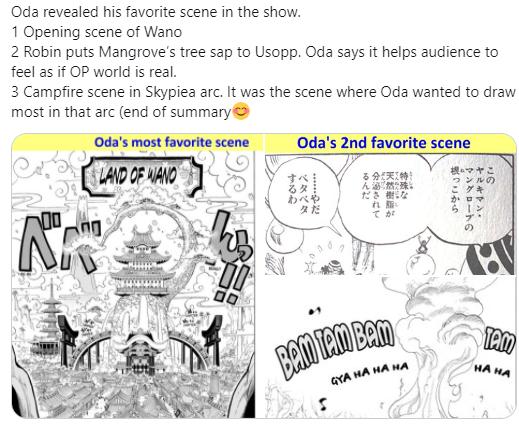 Bất ngờ 3 cảnh yêu thích nhất của Oda trong One Piece không có lấy 1 pha chiến đấu nào - Ảnh 4.