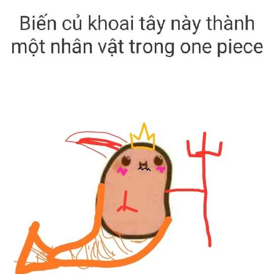 Fan One Piece trổ tài hội họa và sức sáng tạo với củ khoai tây, đến cả Boa Hancock cũng bị dí - Ảnh 19.