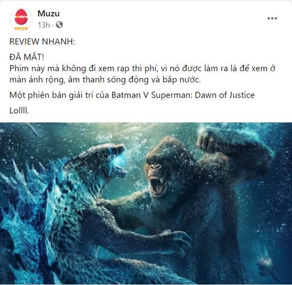 Godzilla Đại Chiến Kong công phá phòng chiếu tại Việt Nam, lập kỷ lục phim có doanh thu suất chiếu sớm cao nhất năm 2021 - Ảnh 8.