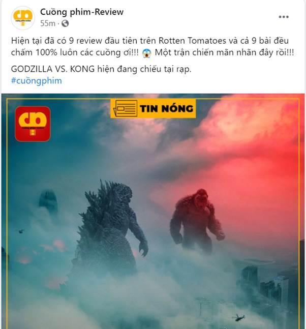 Godzilla Đại Chiến Kong công phá phòng chiếu tại Việt Nam, lập kỷ lục phim có doanh thu suất chiếu sớm cao nhất năm 2021 - Ảnh 6.