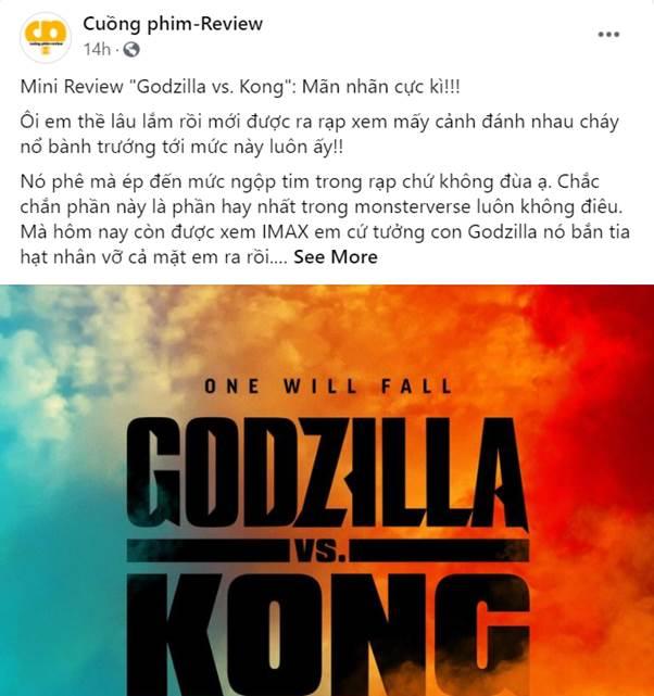 Godzilla Đại Chiến Kong công phá phòng chiếu tại Việt Nam, lập kỷ lục phim có doanh thu suất chiếu sớm cao nhất năm 2021 - Ảnh 5.