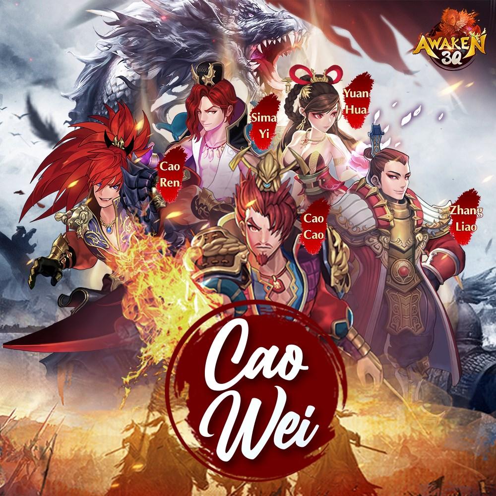 Game thủ đã có thể tải về Awaken 3Q - Game chiến thuật Tam Quốc phát hành Global, phong cách Hàn / Nhật cực hack não - Ảnh 2.