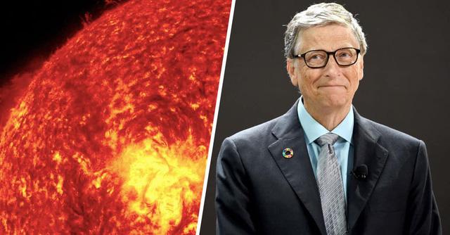 Tham vọng tầm vóc vũ trụ của tỷ phú Bill Gates: Làm mờ ánh Mặt Trời - Ảnh 1.