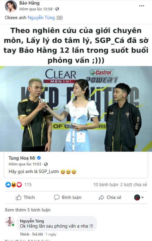 Tân binh SGP phát biểu cà khịa ngụ ý chê bai Lai Bâng và hành động tranh thủ với MC xinh đẹp tới 12 lần - Ảnh 3.
