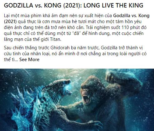 Godzilla Đại Chiến Kong nhận cơn mưa lời khen và chế ảnh khắp MXH, cán mốc một triệu lượt khán giả ra rạp - Ảnh 6.