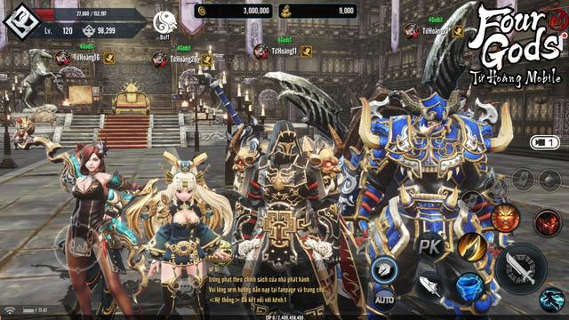 Ngày mai 1/4, Tứ Hoàng Mobile chính thức Closed Beta và 4 lý do không thể bỏ lỡ bom tấn MMORPG đình đám xứ Hàn này! - Ảnh 3.