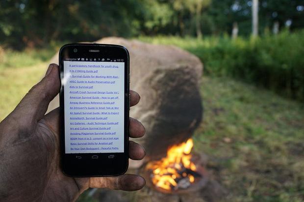 Bí ẩn tảng đá cứ đốt nóng là phát sóng wifi - Ảnh 4.