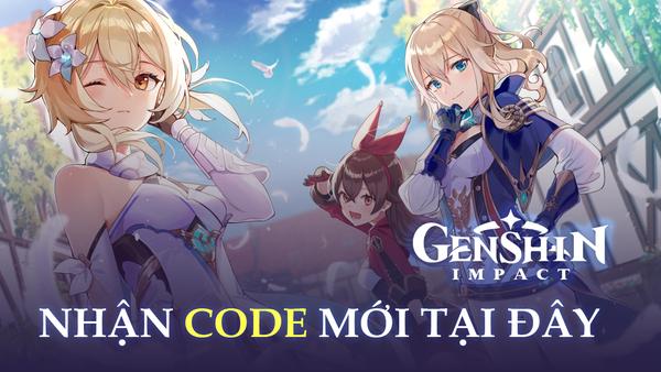Nhanh tay nhận ngay 3 code mới Genshin Impact, trị giá hàng trăm nguyên thạch - Ảnh 1.