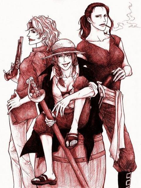 One Piece: Giật mình khi thấy Tứ hoàng Shanks hóa thành mỹ nhân sở hữu 1 tâm hồn đẹp - Ảnh 4.