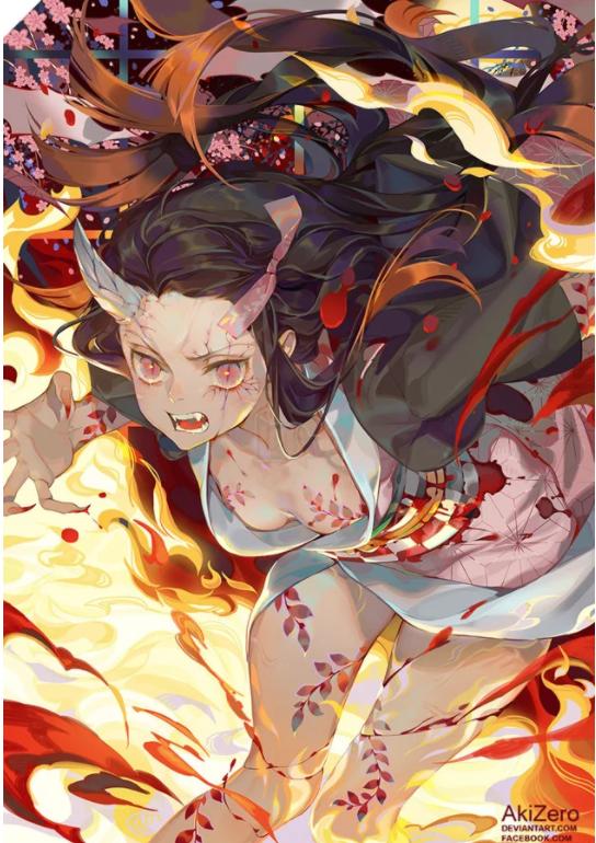 Ngỡ ngàng với loạt fanart Kimetsu No Yaiba của artist gốc Việt, bốc lửa ứ chịu nổi - Ảnh 5.