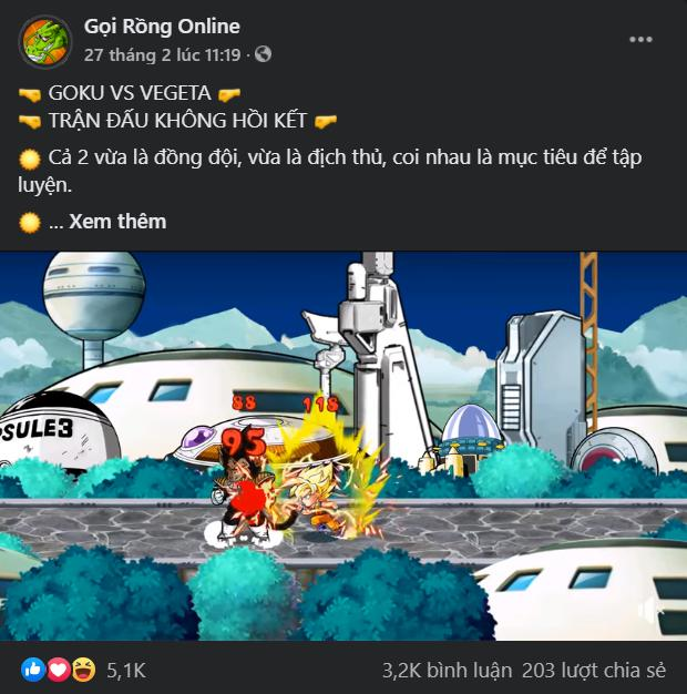 Xuất hiện game mới cực HOT, fan Bi Rồngliên tục làm loạn Facebook chỉ để biết ngày ra mắt - Ảnh 2.